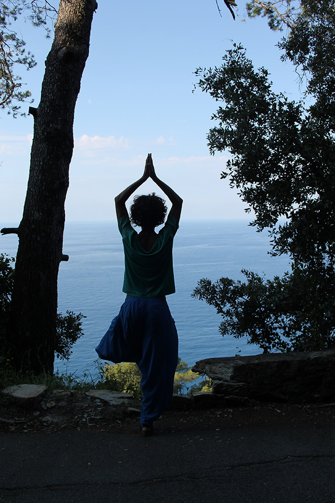 YOGA in LIGURIA with our courses